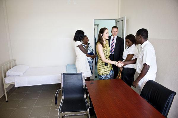 Mary au Mozambique