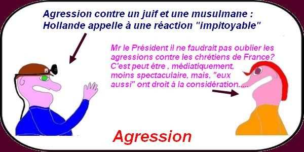 Hollande et les agressions