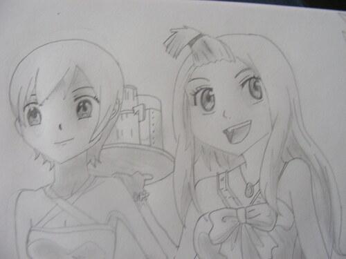 Lissana, Mirajane et Elfman ( Fairy Tail)