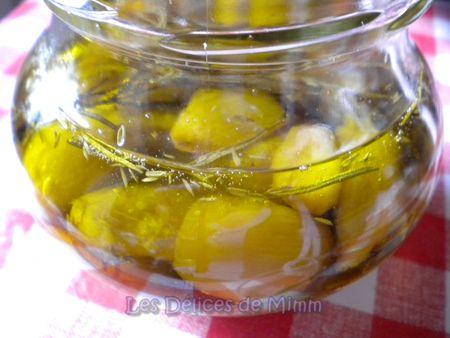 Ail confit à l'huile d'olive 2