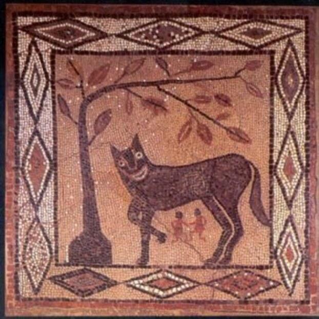 Remus, Romulus et la louve