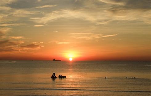 Vietnam Cua-Lo lever soleil