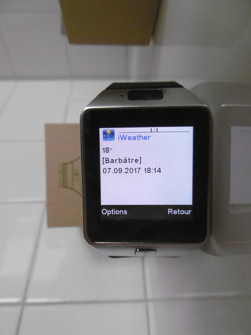 SmartWatch MaliTEK MZ09