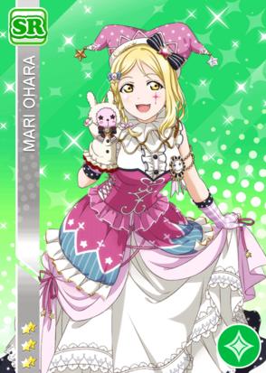 #1230 Ohara Mari SR idolized