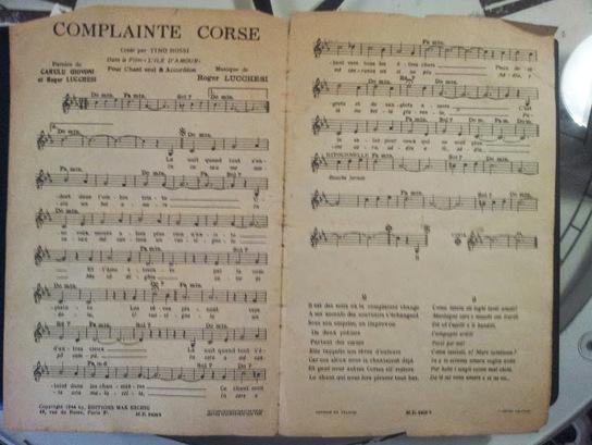 Complainte Corse