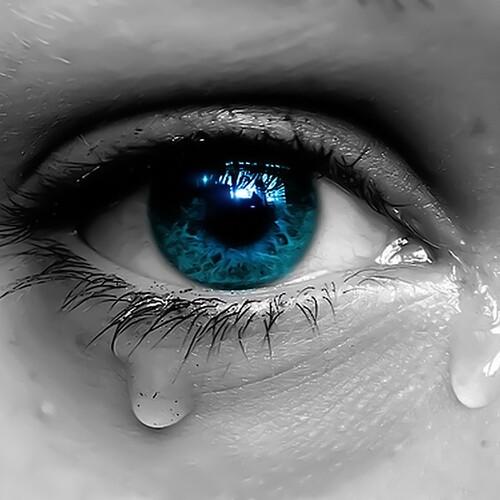 Une larme, c'est ...