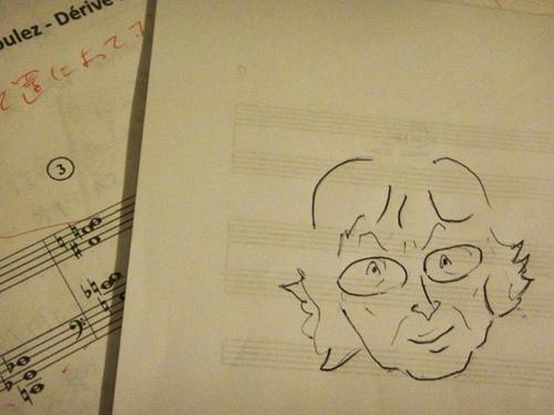 Analyse musicale & Conférence sur « Dérive I » de Pierre Boulez