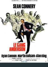 LE GANG ANDERSON BOX OFFICE FRANCE 1971