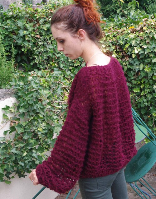 DIY - Le pull oversize