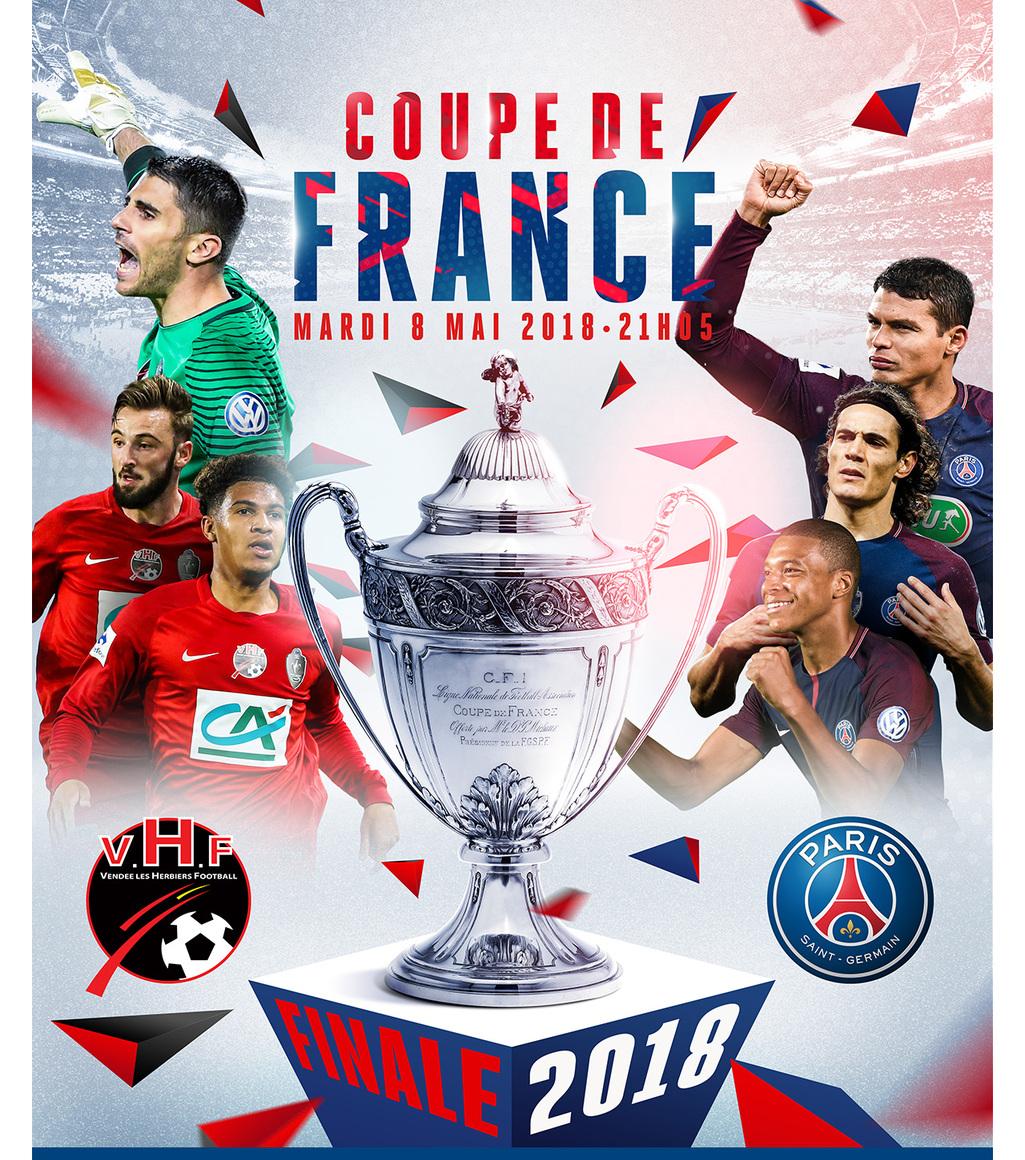 COUPE DE FRANCE 8 MAI 2018