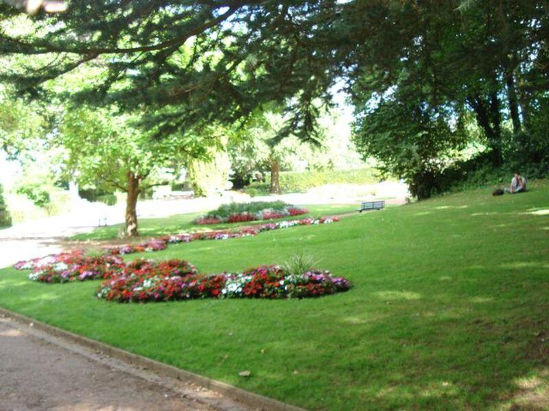 Jardin public Saint-Omer.