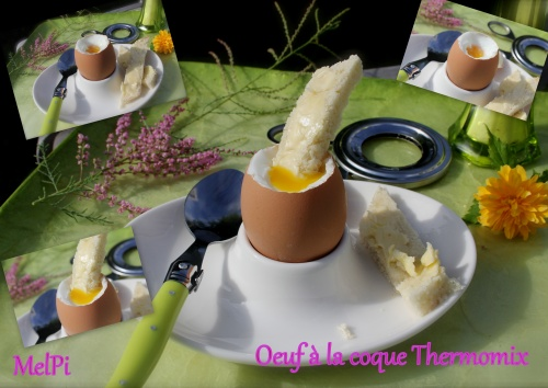 Cuire les oeufs au Thermomix