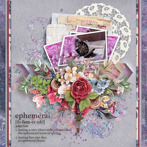 Ephemeral by dentelle scrap