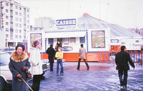 le cirque Jean Richard à Reims en      ( photos Michel et Jérôme Levaux)