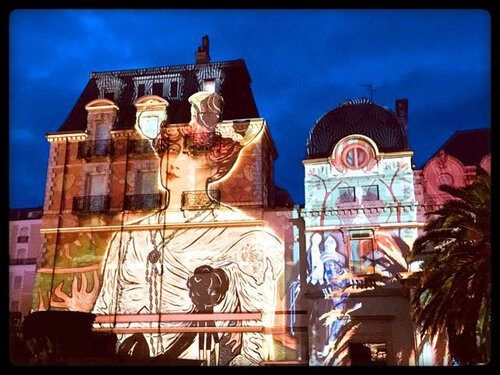 Illuminations dans Biarritz ( suite )