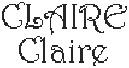 Dictons de la Ste Claire + grille prénom !