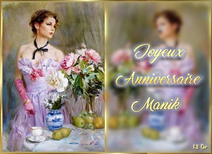 Merci mes ami-es pour vous voeux et cadeaux anniversaire !