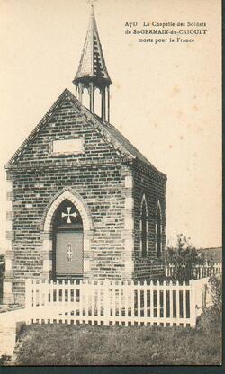11 novembre: commémoration à la chapelle aux soldats