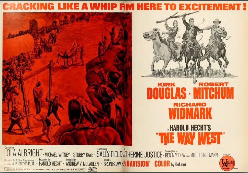 THE WAY WEST BOX OFFICE USA 1967