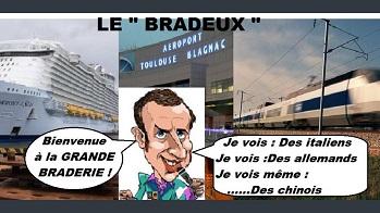 Macron brade la France ...
