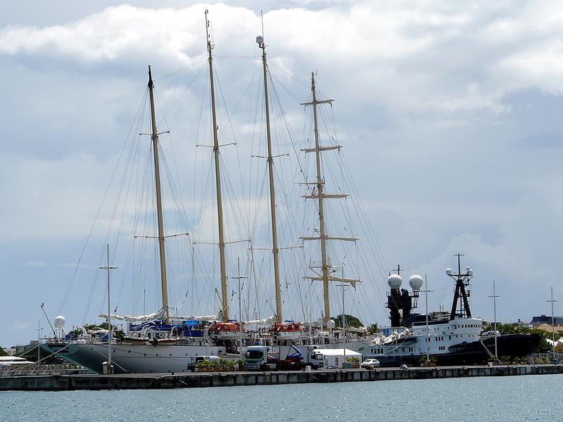 Star Flyer et Arctic P - Papeete - Tahiti