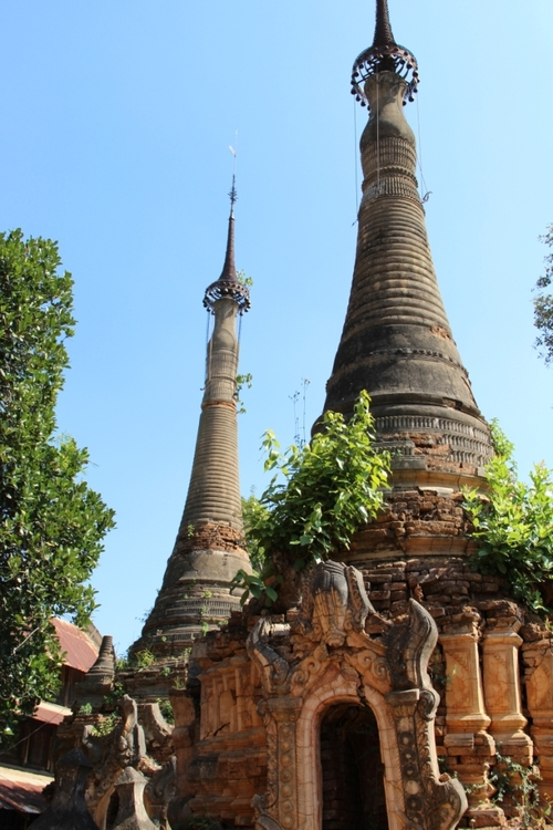 In Thein, le site de Nyaung Ohak