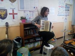 Découverte des instruments de musique pour les CM1B