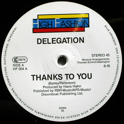 Delegation - Thanks To You