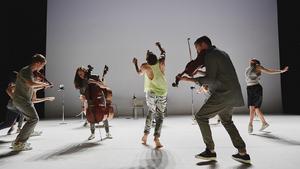 dance ballet class violin ballet class