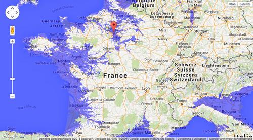 Les quais de la Seine cet après midi