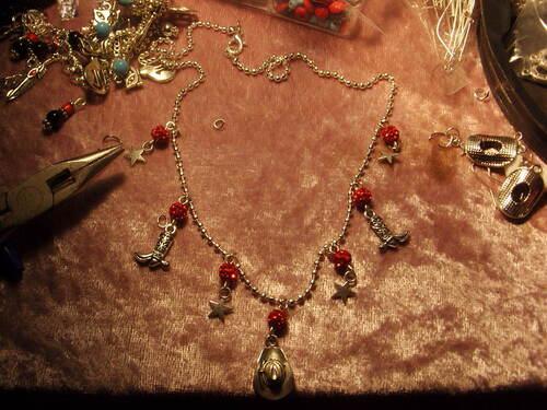 Exposition de mes bijoux country
