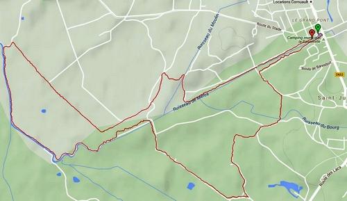 La carte GPS