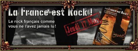 La France est Rock - Décidace à Paris en mars