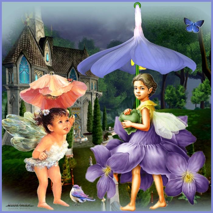 Un parapluie magique