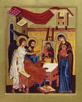 Les icônes de la Vierge Marie, Eléousa, Odiguitria, dites de saint Luc