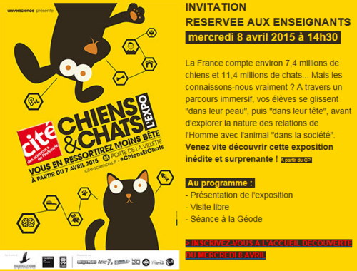 Expo chiens et chats