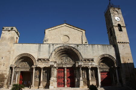 L'abbatiale de Saint-Gilles-du-Gard