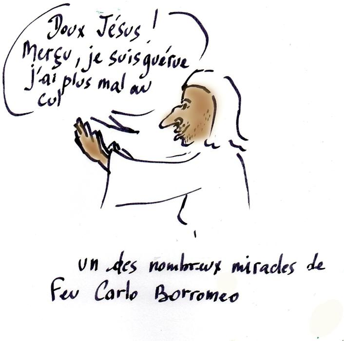 Saint du 4.11/Carlo Borromeo/pas si beau que Romeo