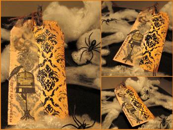 Un trio de tags pour Halloween