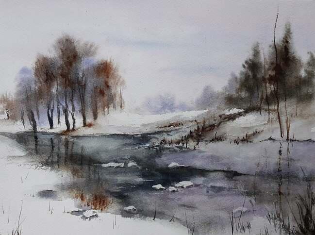L'image contient peut-être: ciel, arbre, plein air, nature et eau