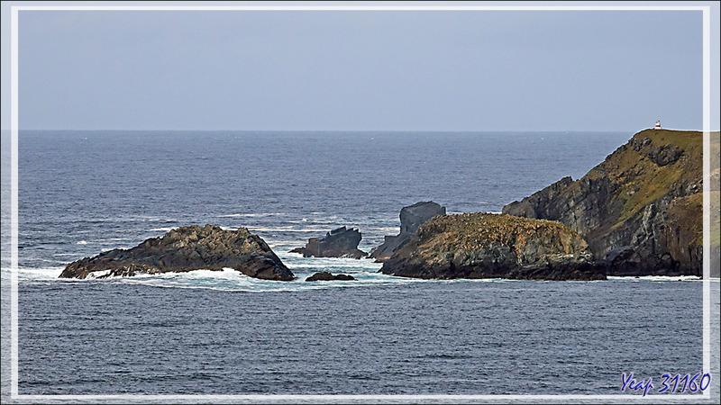 Panoramas vus depuis le Monument de l'île du Cap Horn - Chili