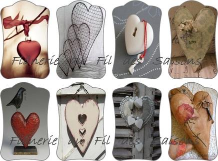 ♥ Cartonnettes St Valentin ♥