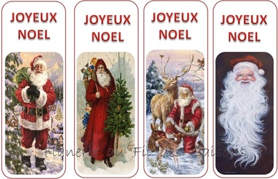 Noël Marque-page ! Père Noël ...