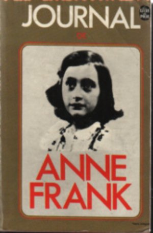 """Le journal d'Anne Franck"" de Anne Franck"