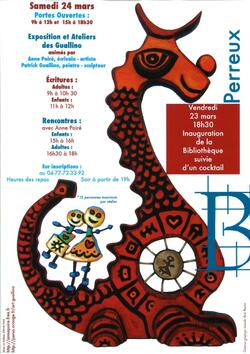 Affiche Perreux 2012 - Poiré Guallino