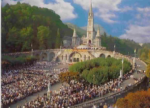 Lourdes : Les pélerinages