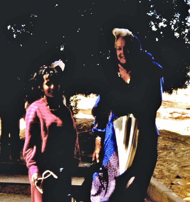 La Bégum - Assouan, Egypte 1987 - Extrait de diaporama (vidéo CD) réalisé à partir de scan de diapositives