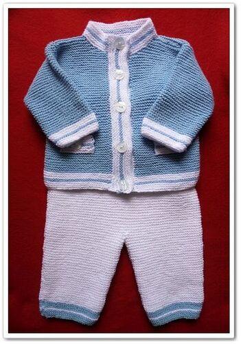 Veste et pantalon pour bébé