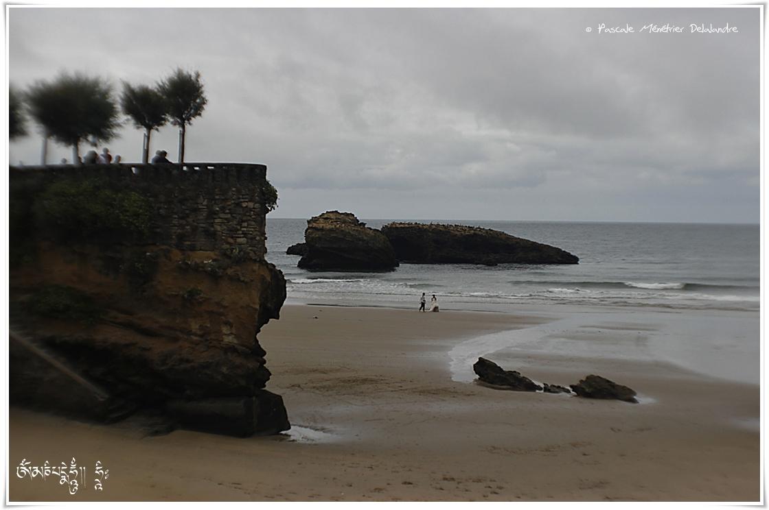 Les mariés de Biarritz