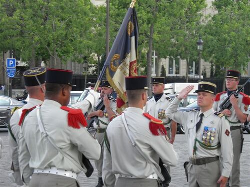 * 11 Juin 2015 - Cérémonies de commémoration de la Bataille de Bir Hakeim